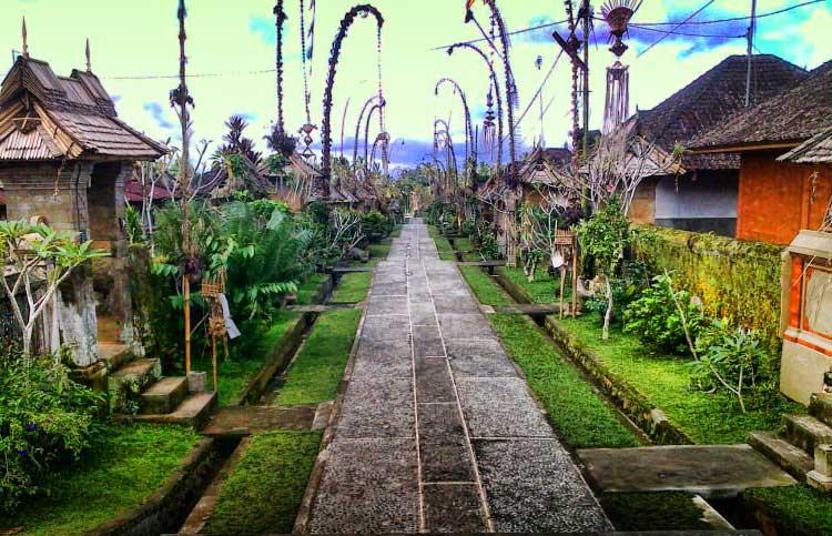 Desa Panglipur wisata bali